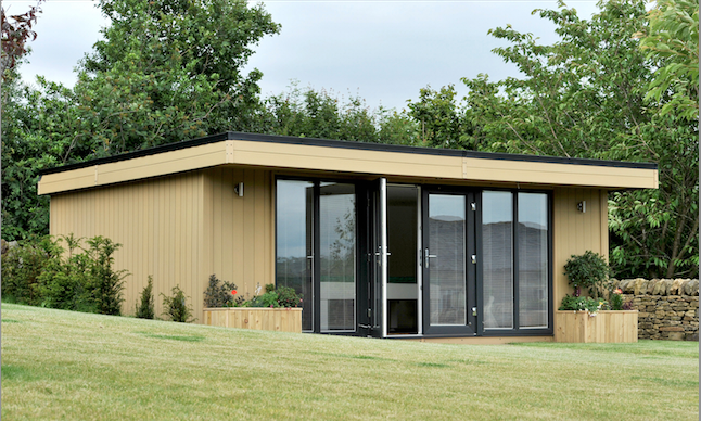 garden rooms flintshire, garden offices flintshire, garden rooms north wales, garden offices north wales
