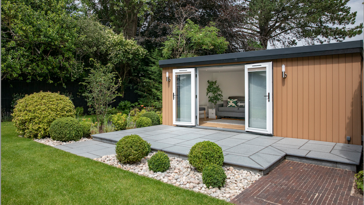 insulated garden room, stockport, manchester
