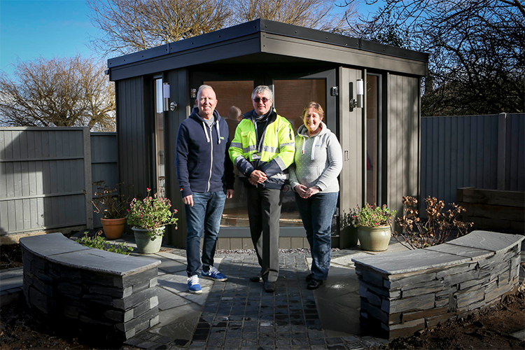 garden studio, garden office, garden rooms chester, garden rooms cheshire