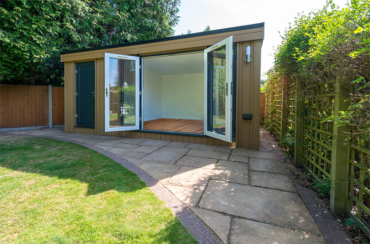 garden room, shrewsbury, garden rooms