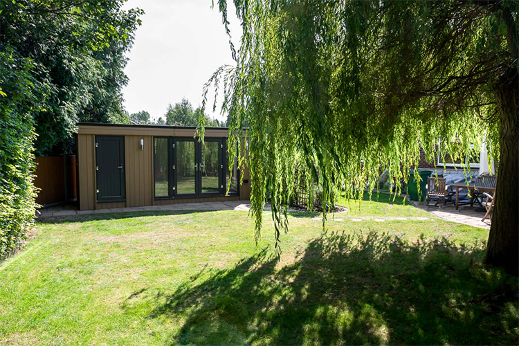 garden room with storage, garden rooms Shrewsbury