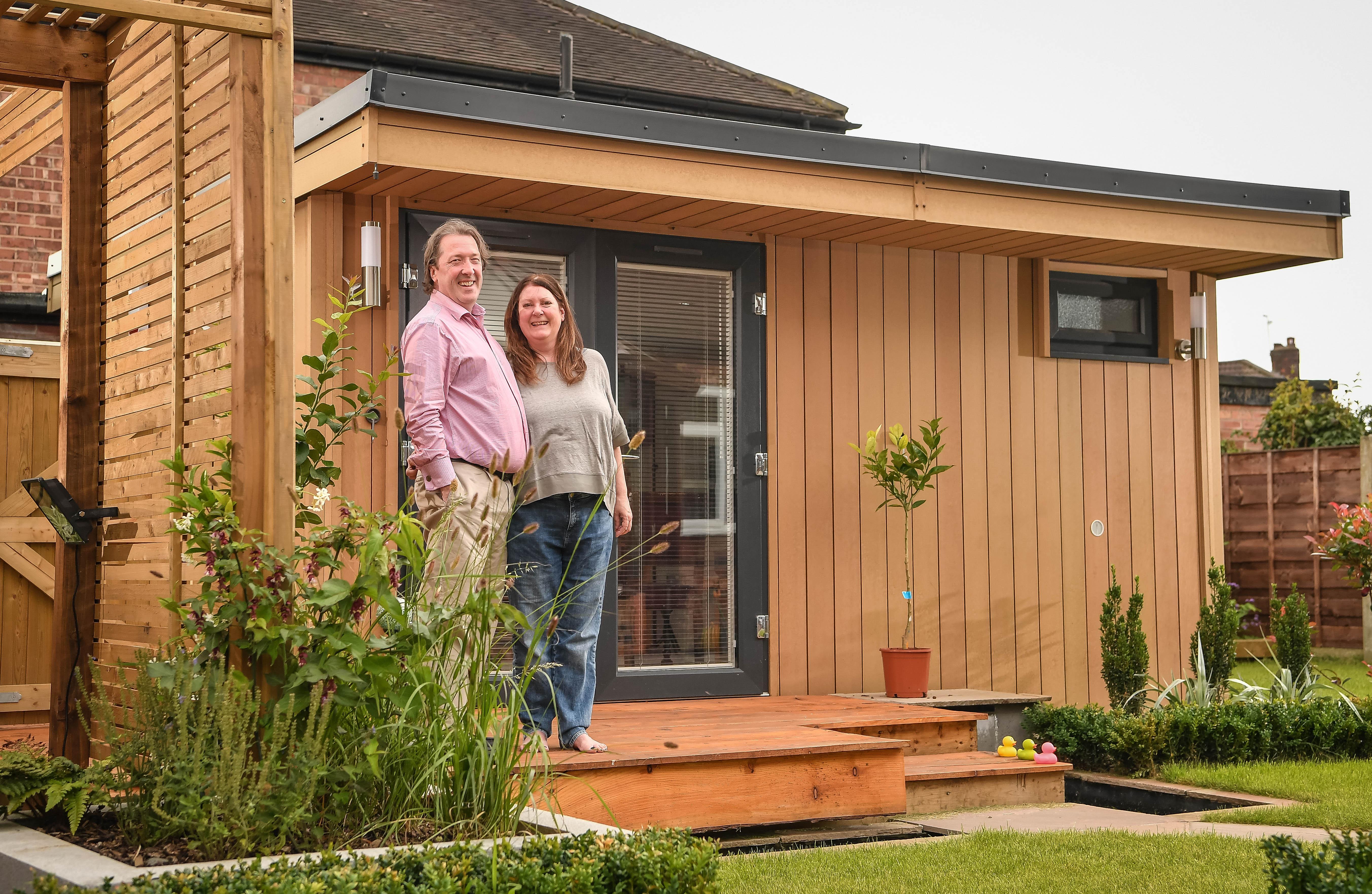 garden office, garden office manchester, garden room, garden room manchester, garden studio, garden home office