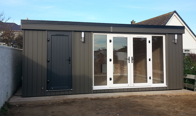 garden room with storage, garden rooms anglesey