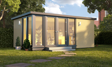 vista style garden room, garden rooms, garden offices, garden buildings, garden studio, garden rooms north wales, garden rooms cheshire