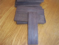 Wenge Bridge blank straight grain