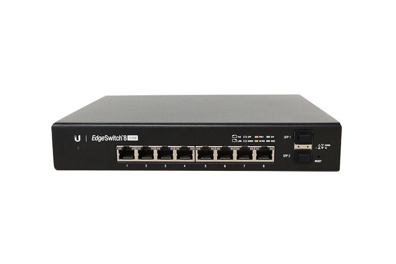 Ubiquiti EdgeSwitch 8 150w (ES-8-150W) Managed PoE+ Gigabit Switch with SFP