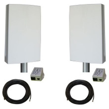 Tycon Systems EZBR-0516HD+ Ind.l Strength PT P Bridge Sys - Plug And Play, 5GHz (EZBR-0516HD+)