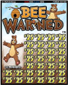 BEE WARNED 088