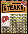 HIGH STEAKS 091