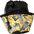 10-Pocket Bingo Riches Print Bag (Black)