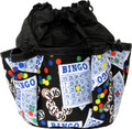 10-Pocket Classic Bingo Card Print #1 Bag (Black)