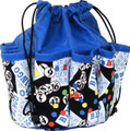 10-Pocket Classic Bingo Card Print #1 Bag (Blue)