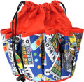 10-Pocket Classic Bingo Card Print #2 Bag (Red)