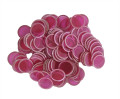 Magnetic Chips - Red (100 count)