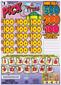 PICK A PRIZE CASHBOARD GAME ESS