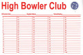 BOWLER CARDS 100 LINE