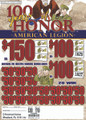 100 YEARS OF HONOR A.L. 325