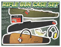 Rifle Gun Case Set