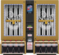 NEVADA GOLD TICKET DISPENSER 8 COLUMN (800 cap) - USED 836