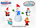 Christmas Air Blow ups Asst 1 ( 10)