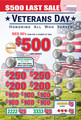 VETERANS DAY S4620L
