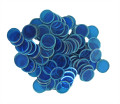 Magnetic Chips - Blue (100 count)