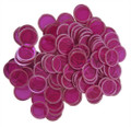 100 CT MAGNETIC CHIPS PURPLE