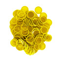 100 CT MAGNETIC CHIPS YELLOW