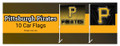 Pirates Car Flag Kit (10)