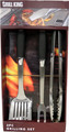 Grill king 3 pc Grilling Set (10)