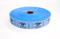 Single Roll Good for One Drink Tickets - Blue