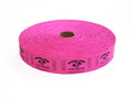 Single Roll Good for One Drink Tickets - Magenta