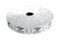 Single Roll Good for One Drink Tickets - White