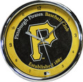 Pirates Chrome Clock