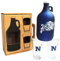 NAVY UNIV 3pc FROSTED GROWLER SET