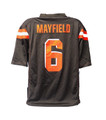 Browns Mayfield Brown Jersey XL