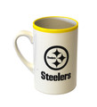 Steelers White and Yellow Mug