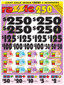 RAZZLE 250 SUPER CARD 16989