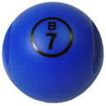 Blue Magnetic Bingo Ball with 100 Chips