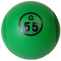 Green Magnetic Bingo Ball with 100 Chips