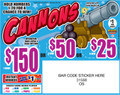 CANNONS 31568