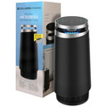 Cool-Living True HEPA 4-Stage Air Purifier with Nightlight Mode and Two Filters (Black)