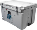 37 Gallon Roto Molded Hard Cooler with Wheels