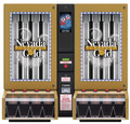Nevada Gold Fortune Ticket Dispenser - 8 Column (bill, display and lights)