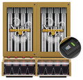Nevada Gold Classic Ticket Dispenser - 8 Column (keypad)