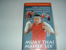 MUAY THAI  - Narong Woongshonthon Cheng Muay w/ LEK   (VHS VIDEO)