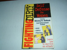 SELF-DEFENSE FOR WOMEN W/ DEHOOK    (VHS VIDEO)