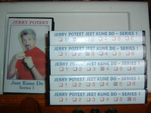 JEET KUNE DO - SERIES 1 VOL 1-6 W/ JERRY POTEET   (VHS VIDEO)