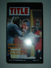 TITLE BOXING #11 - ATTACKING AND PUNCHING AT ANGLES W/ JEFF FENECH   (VHS VIDEO)
