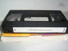 KENPO KARATE W/ JAMES IBRAO   (VHS VIDEO)